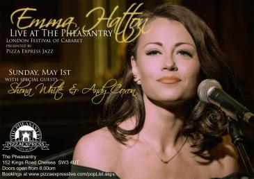 Emma Hatton, Live at The Pheasantry