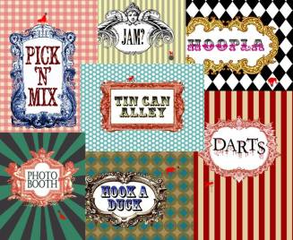 bespoke party posters