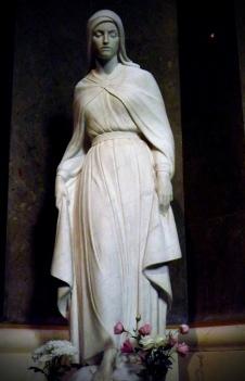 Virgin at St. Stephen's Basilica, Budapest Hungary