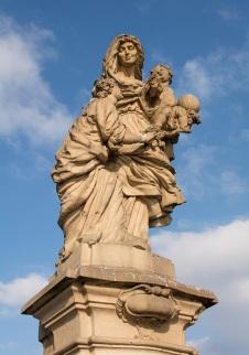 St. Anne on Charles Bridge, Prague Czech Republic