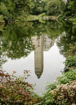 reflection, Central Park NYC