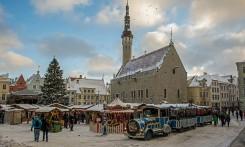 Tallinna Jõuluturg (Christmas Market), Raekoja plats, Tallinn Estonia