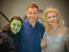 Emma Hatton, Gary Barlow, Savannah Stevenson