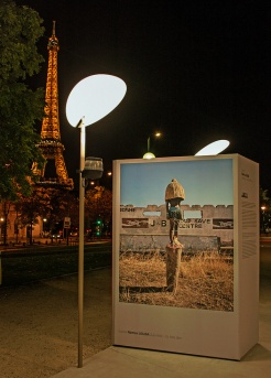 outdoor photo exhibition, Paris