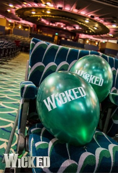 Wicked balloon drop