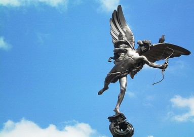 Eros, Piccadiliy Circus U.K.