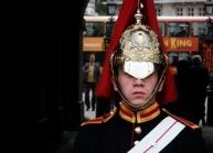 Horsegaurdsman on duty, London U.K.