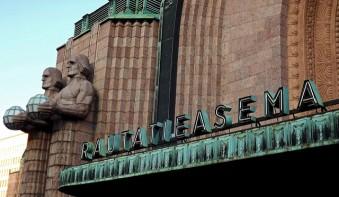 Rautatieasema, train station, Helsinki Finland