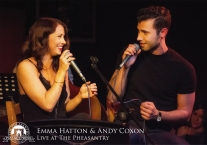 Emma Hatton and Andy Coxon
