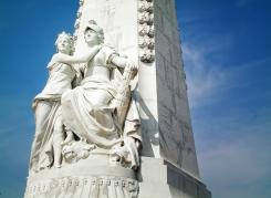 Ville de Nice Monument, Nice France