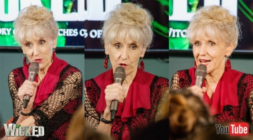 Anita Dobson appearing at the Wicked UK forum panel on Tuesday Sept 13 for YouTube Space London