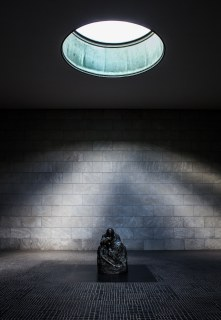 """The Neue Wache (Eng: New Guardhouse) is the building that serves as the """"Central Memorial of the Federal Republic of Germany for the Victims of War and Tyranny""""."""