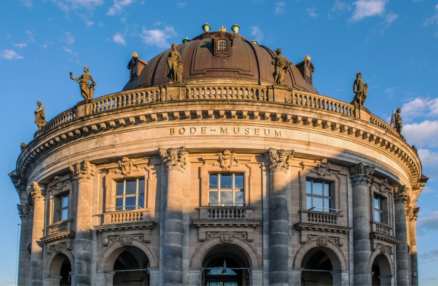 Bode Museum at sunset.