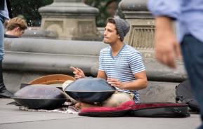 Adam Maalouf in Washington Square Park