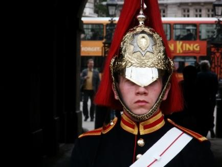 Horse Guard in uniform