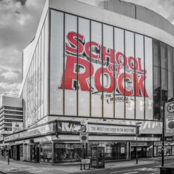 School of Rock at the Gillian Lynne
