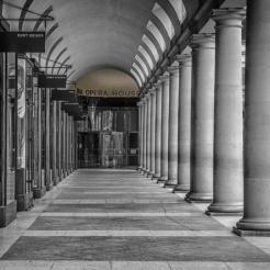 Royal Opera House Covent Garden entrance